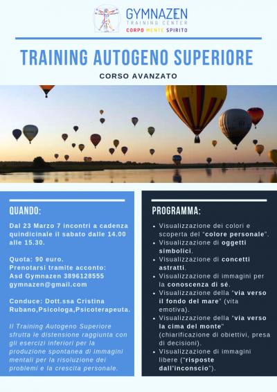 Training Autogeno Superiore