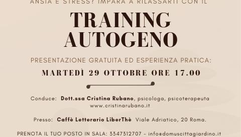 Corso di Training Autogeno a Roma