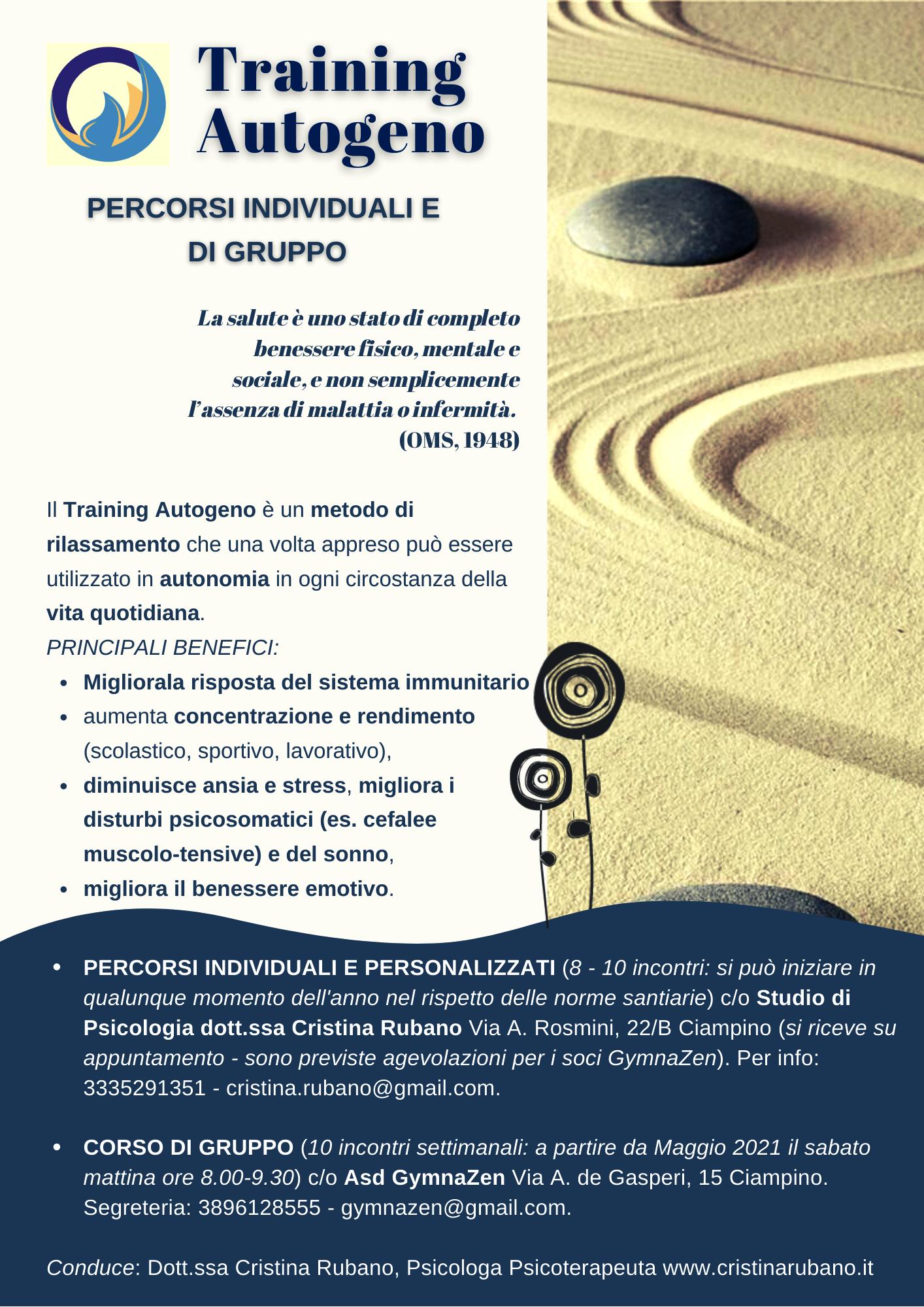 Cristina Rubano Psicologa Ciampino Castelli Romani Roma Nord